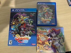 Shantae half genie hero risky beats édition sony PS vita complet playstation