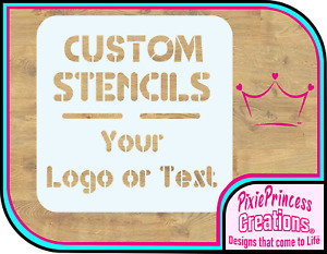 Personalised A3 Custom Stencil Reusable Mylar 190 Spray Paint Logo Image Text