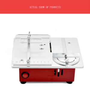 Mini 96W Multifunctional Precision Table Saw Diy Model Household Mini Chainsaw