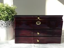Large Stunning Piano Finish Wooden  Box -- 003R