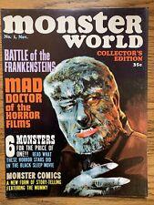 Monster World # 1 FN/VF WARREN PUBLISHING