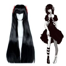 Tokyo Ghoul Re Juzo Suzuya Rei Genderbend Cosplay Wig Black Long Straight Hair