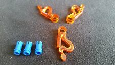 LEGO NINJAGO SPINNER WEAPON - ORANGE SPINNER BLADES (X3) WITH ATTACHMENT PIN