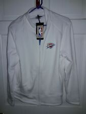Oklahoma City Thunder OKC basketball Full-zip Jacket athletic shirt NBA Ladies L