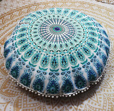 Mandala throw pillow Decorative Handmade cushion cover Ethnic throw pillow decor