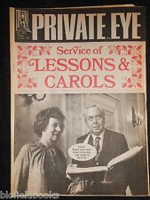 PRIVATE EYE - Vintage Satirical Political Humour Magazine - 22nd December 1978