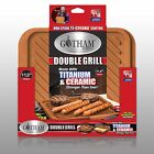 Gotham Steel Ceramic and Titanium Nonstick Double Grill - As Seen On TV- NEW!