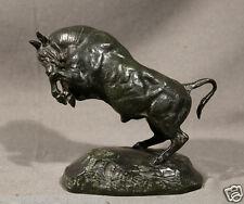 19th Century Antoine Barye Bronze Bull