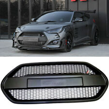 Front Radiator Grille Matt Black for HYUNDAI 2013-2017 Veloster Turbo