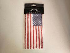 Oakley USA Flag Micro-bag Accessories Sunglasses Cloth Cleaner NIB