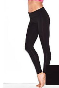 Victoria's Secret Lounge Pants Leggings Black Women's Sz L NWT