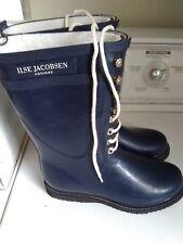 ILSE JACOBSEN Womens Hornbaek Boots Size 8 Blue