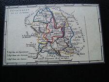 FRANCE - carte 22/3/1990 (carte departement de la lozere) (cy79) french (A)