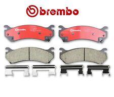 For Cadillac Escalade Chevy Astro GMC Hummer Rear Brake Pad Set Ceramic w/Shims
