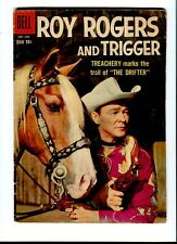 Roy Rogers And Trigger 128. ( photo cover ) Dell  1958 -    VG +