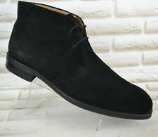RUSSELL & BROMLEY London Mens Black Leather Outdoor Ankle Boots Size 11 UK 45 EU