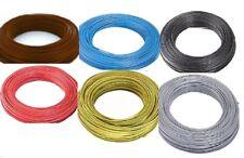 Fil électrique souple HO7-VK 4 -6 -10 -16 -25 -35mm² - 2-5-10-20 m cinq Couleurs