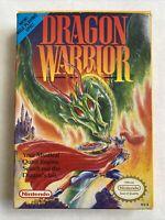 Dragon Warrior Nintendo NES CIB W/Manual & Charts & Maps Amazing Condition