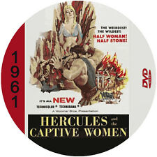 """Hercules and the Captive Women (1961)  Adventure and Fantasy CULT """"B"""" Movie DVD"""