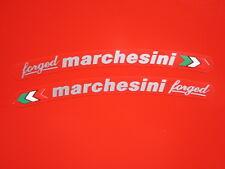 Ducati 916 996 998 999 1098 1199 Hypermotard Marchesini forged sticker silver