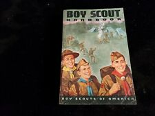 53.  Boy Scout 1965 Hiking Cover Handbook  first printing