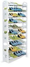 Shoe Rack Holds 50 Pairs 1.56m Tall Basement Closet Space Saver Unit Storage