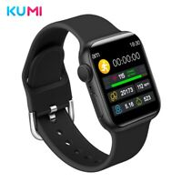 Orologio intelligente KUMI KU1 Blood Pressure Monitor Smart Watch Nero