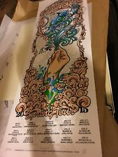 Widespread Panic Spring Tour 2015 Poster Luchessi