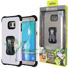 Custodia Armor-X CX-S6EP-SL Silver+clip cintura per Samsung Galaxy S6 Edge+ Plus