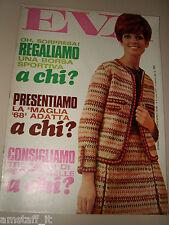 EVA=1968=ORNELLA VANONI=ELIANA MEROLLA=CARLO SIRTORI=JULIE CHRISTIE=FAYE DUNAWAY