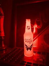 NHL Washington Capitals Hockey 12 oz Beer Bottle Light LED Bar Man Cave