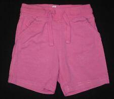 Short kurze Hose rosa Mädchenhose Freizeit-, Sporthose H&M mit Taschen Größe 68