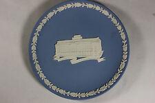 Wedgwood Jasperware Blue Liverpool Victoria's 150 Anniversary plate, 16cm