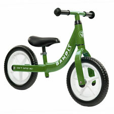 Bandit Bicycles Balance Kids Bike Never Flat Tires Super Light FOREST GREEN