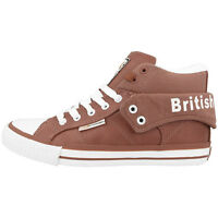BRITISH KNIGHTS ROCO BK SCHUHE HIGH TOP SNEAKER RUST B34-3736-20 MID BOOTS