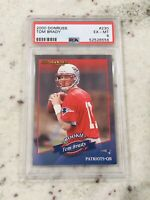 🔥 2000 Donruss #230 Tom Brady (R) (1325) Rookie RC Best QB PSA 6 Super Bowls $$