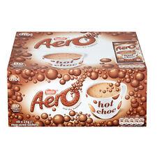 Aero Drinking Bubbly Hot Chocolate Instant Sachets x 40 Luxury Drinks