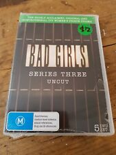 Bad girls series 3 uncut DVD brand new sealed