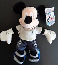 "Disney California Adventure Mini Bean Bag Plush Beach Mickey 10"" Free Ship New"