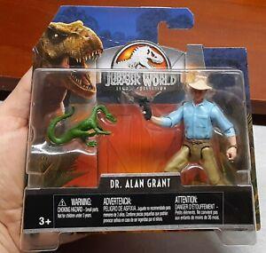 Jurassic Park World (Mattel 2018) LEGACY COLLECTION DR. ALAN GRANT Figure! New!!