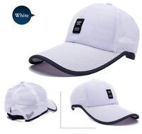 Men Mesh Baseball Cap Trucker Snapback Hat Black Dad Hats for Summer Men  Women 5e05dab5cb0