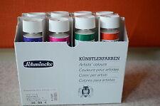 Schmincke AKADEMIE® Gouache Künstlerfarben Grundsortiment 8 x 60 ml Kartonset