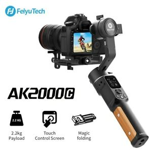FEIYUTECH AK2000C 3 Axis Foldable Camera Stabilizer Gimbal For Canon Sony DSLR