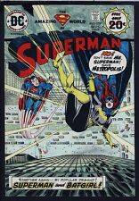Superman 279 COVER ART HAND PAINTED COLOR GUIDE Batgirl Death? 1974 w) FILE COPY