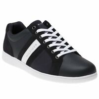 New MENS TOMMY HILFIGER BLUE CUPSOLE LEATHER Sneakers Court