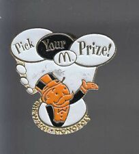 RARE PINS PIN'S .. MC DONALD'S  RESTAURANT MONOPOLY GAMES JEU CREW 2001 ~12