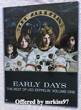 Led Zeppelin Early Days Promo Promotional Only 18X24 The Best of Zeppelin Page
