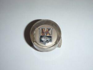 NOS Interior Door Push Button Emblem BEIGE 1947 1948 Kaiser 47 48 # 202989