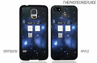 Doctor Who Dr. Who Tardis Stars Phone Case for Apple / Samsung Phone Case Cover