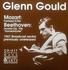CD Glenn Gould-Mozart GATTINI k396/Beethoven Sonata raccogli 106